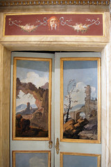 Galleria Borghese (kate223332) Tags: galleriaborghese roma rome painting door entry gateway portal