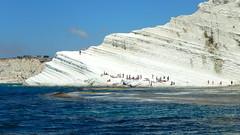 Scala dei Turchi (rockpainting ☼ yvette) Tags: scaladeiturchi sicilia falaises falaisescalcaire mer italia plage