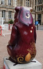 Sun and Moon Bear Rear (ahisgett) Tags: birmingham children's hospital charity wild art big sleuth 2017 bearmingham street sculpture