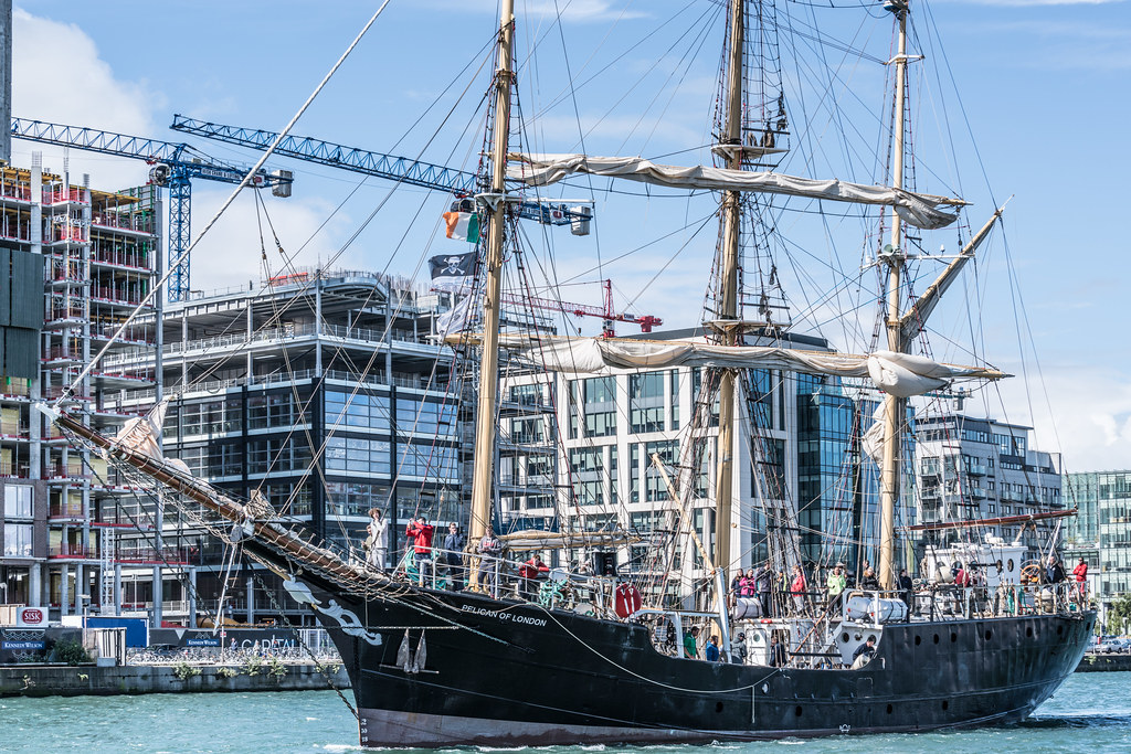 PELICAN OF LONDON [TALL SHIPS LEAVING DUBLIN PORT TUESDAY JUNE 6 2017]-129388