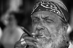 Personality (Giulio Magnifico) Tags: closeup friuli macro nikond800e vintage composition soulful eyes streetphotography detail gaze lighting expression personality streetportrait look man smoking thought citylife power portrait character cividale udine ancient emotion italy nikond800enikkor105mmmicrof28afs contrast 105mm cigar smoke blackwhite traditional