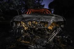 BMW S5 CALCINATOR (Carlos Server Photography) Tags: nightscapes fotografíanocturna longexposure largaexposición lightpainting pintura de luz bmw s5 canon 1635mm nightphotography