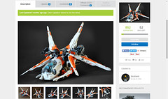 Lego Ideas - Merkabah class Heavy Gunship (Brick Martil) Tags: lego toy ideas merkabah ucs spaceship space spacecraft gunship heavy scifi science fiction starfighter