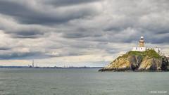 Dublin Bay (isitaboutabicycle) Tags: dublin dublinbay ireland seascape poolbeg twintowers chimney powerstation pier quay lighthouse bailey howth twinchimneys