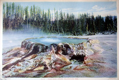 #10 Punch Bowl Spring ,Yellowstone Park 1935 (Hydra5) Tags: 1935 punchbowlspring yellowstonepark
