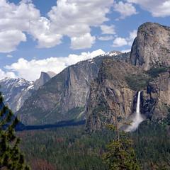 Cascade (Scott Holcomb) Tags: bridalveilfalls yosemitenationalpark california kowasix kowa156250lens kowal393cuvø67filter kodakportra800film 6x6 120film mediumformat epsonperfectionv600 photoshopdigitalization