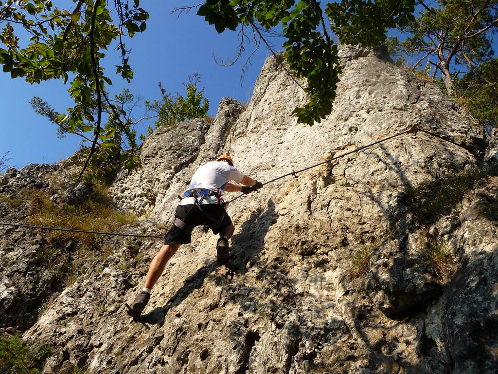 Klettersteig Höhenglücksteig : Premiere höhenglücksteig ohne geocaching kocherreiter auf