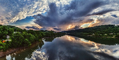 IMG_3899-15Ptzl2TBbLGER (ultravivid imaging) Tags: ultravividimaging ultra vivid imaging ultravivid colorful canon canon5dmk2 clouds sunsetclouds scenic rural vista spring reflections river rainyday stormclouds landscape lateafternoon pennsylvania pa panoramic