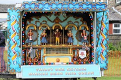 Edenfield Fete, Lancashire, England - Thirty one keyless Miricki Dean Fair Organ (rossendale2016) Tags: animated bell artists men lady drums soldier 50th 50 anniversary fiftieth fifty society preservation fair musical music organ fairground dean miricki england lancashire fete edenfield automaton old ancient bugone ateam electrical ornate italoan german english attractive mobile colourful painted fashioned tomes travelling faute caravan tunes many miscellaneous photogenic picturesque iconic travellers tasteful tastefully restored condition maintained original foreogn french austrian swiss blue