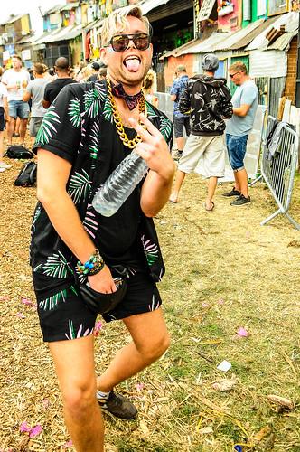 Silver Hayes at Glastonbury 2017