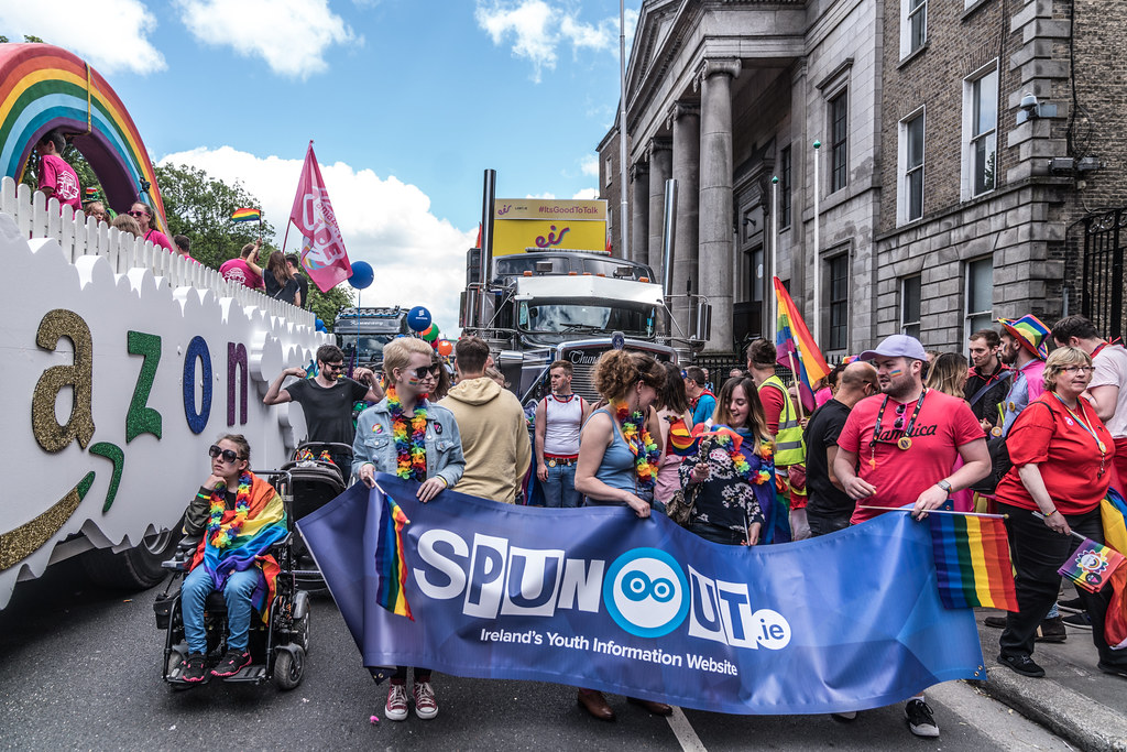 LGBTQ+ PRIDE PARADE 2017 [STEPHENS GREEN BEFORE THE ACTUAL PARADE]-129959