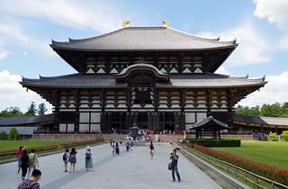 Daibutsuden, Todaiji Temple, Nara