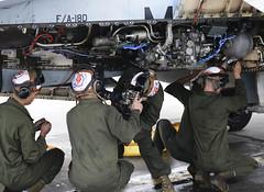 "Motor swap keeps Marine Corps F-18's in the air during training in Alaska (#PACOM) Tags: ""uspacificcommand pacom"" jber exercise vmfa251 marinecorps fa18 hornet maintainers semperfi jointbaseelmendorfrichardson alaska unitedstates"