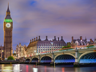 Big Ben & the Green Bridge...