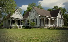 (SouthernHippie) Tags: architecture victorian history house historic home historical south southern southernhippie serene bluesky beautiful blackbelt blue alabama abandoned al americana american alone empty exploring forgotten farm farmhouse fadingamerica flickr white wow texture turnofthecentury trees green grass pretty preservation rural ruin rundown rustic rurex decay moody michellesummersphotography mayberry memories mood