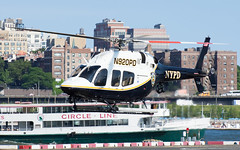 NYPD Bell 429 (Jakub Wil.) Tags: helicopter port pad ny nyc new york city
