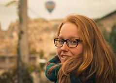 Charlotte - Cappadocia (HijoDMaite) Tags: turkey capadoccia travel redhead ginger balloons istanbul ankara