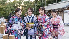 Beautiful Japanese Ladies (Gerald Ow) Tags: kimono geraldow japan kyoto 京都市 日本 sony a7rii a7rm2 fe 2470mm f28 gm gmaster ilce7rm2