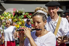 Transhumances en Haut-Salat (Ariège/Pyrénées) (PierreG_09) Tags: ariège pyrénées pirineos couserans hautsalat transhumance folklore groupefolklorique musique musicien