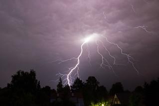 Blitzeinschlag in Ahrensburg