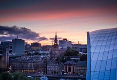Newcastle Skyline.