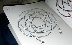 knot sketch 6x5 plan view (A L A N A) Tags: knot plan loops turkshead thk paracord паракорд australia geometry torus cycloid trochoid theory 6x5 6lx5b ringknot ring cylindrical cylinder queensland knots stopper footrope button terminal facets strand узел бриллиант alana forest alanaforest
