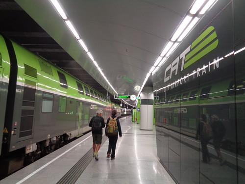 city airport train wien