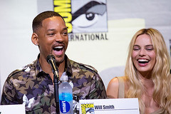 Will Smith & Margot Robbie - Suicide Squad SDCC 2016 (Emese Gaal) Tags: sdcc sdcc2016 comiccon sandiegocomiccon comiccon2016 willsmith margotrobbie suicidesquad