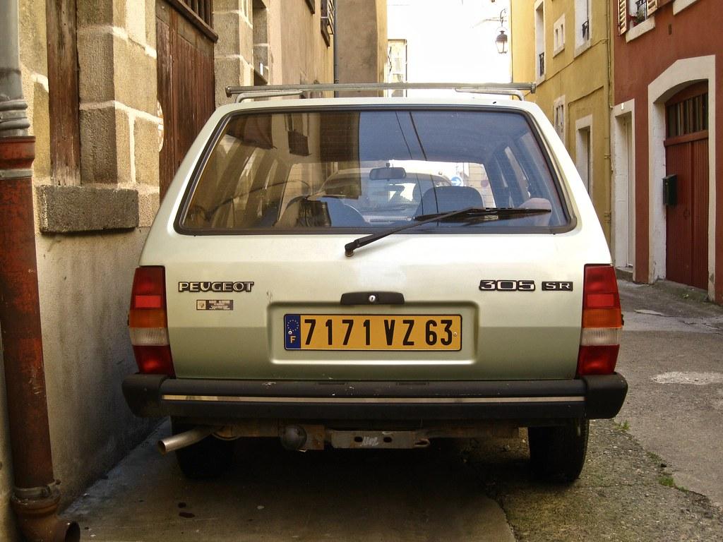 1980 1982 peugeot 305 break sr phase i classicsonthestreet tags 7171vz63 peugeot