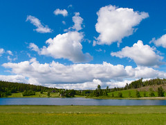 A Beautiful Day (keibr) Tags: blipfoto blip keibr summer roof redhouse lake home walk redhouseroof5 solstice