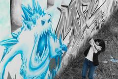Blue-Ice_Monster GraffMeWild (hybrid.photographer) Tags: architectureetbatiments artetculture buildings couleur emotionsandactions europe france grauduroi languedocroussillon monstre streetart art azul bleu blue color couleursélective culture emotions fear feelings monster peur portrait selectivecolor state tags états étatsetactions