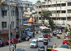 Pune streets (Isabel-Valero) Tags: delhi new city traffic india travel