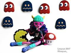 (Linayum) Tags: kjerstitrollson mh monster monsterhigh mattel doll dolls muñeca muñecas toys juguetes pacman linayum