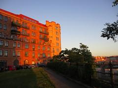 Sunset light on houses of Arsenalsgatan, Gothenburg, Sweden (Paul McClure DC) Tags: gothenburg göteborg sweden sverige july2015 architecture historic