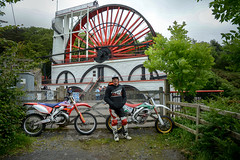 Laxey wheel (Lee Head) Tags: tt2017isleofmanroadracing tt2017 isle man nikon photography