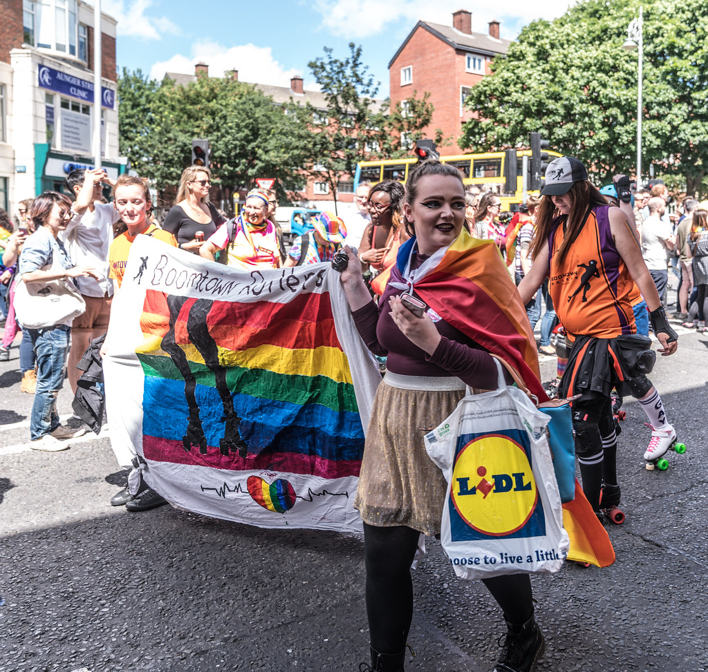 LGBTQ+ PRIDE PARADE 2017 [ON THE WAY FROM STEPHENS GREEN TO SMITHFIELD]-130153