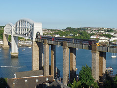 43301 Royal Albert Bridge, Saltash (Marky7890) Tags: xc 43301 class43 hst 1v58 royalalbertbridge railway saltash cornwall cornishmainline train