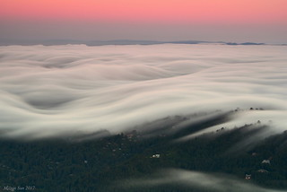 Cloud Waves at Dusk|Marin County, California