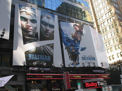Valerian and the City of a Thousand Planets Billboard Poster 7955 (Brechtbug) Tags: valerian city thousand planets billboard poster times square nyc 2017 french science fiction comics series from 1967 valérian laureline written by pierre christin illustrated jeanclaude mézières film movie directed luc besson new york 06262017
