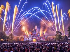 Magic in the air (3dgor 加農炮) Tags: fireworks disney castle gfx fujifilm captureone disneyland hongkong