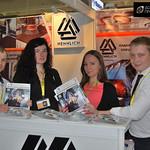 Представители нашего издания на стенде компании Hennlich