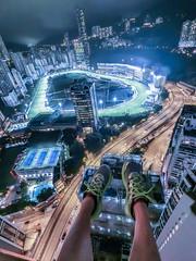 CIMG0045 (2) (變幻.色彩.超現實) Tags: lightroom hongkong city casio fr100 16mm rooftop rooftophk