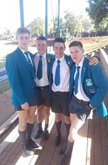 2 (cane4u) Tags: boy boys schoolboy schoolboys teenage teenager school uniform shorts socks tie blazer spanking discipline headmaster cp corporal punishment cane caning strap tawse paddle birch birching