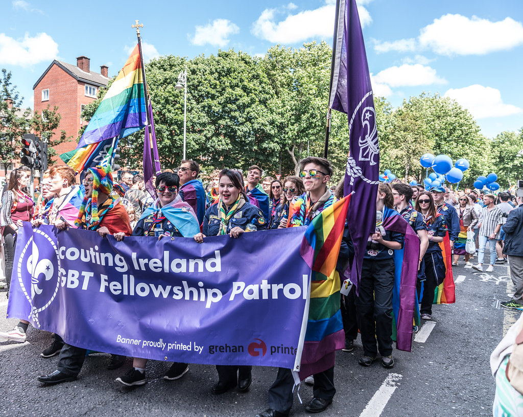 LGBTQ+ PRIDE PARADE 2017 [ON THE WAY FROM STEPHENS GREEN TO SMITHFIELD]-130100