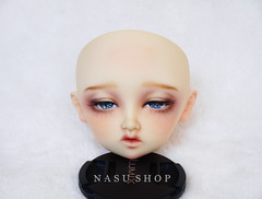 Volks - 眠NANA (nasu_shop/寶井茄子/ +*. 原味茄汁本舖 .*+) Tags: volks bjd nana makeup doll