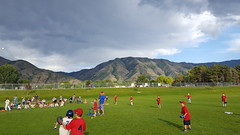 Awesome clouds at the baseball game (Aggiewelshes) Tags: june 2017 phone s6 olsen baseball landscape scenery clouds