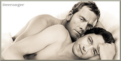 Cuddling (The Deeranger) Tags: photo manipulation cherik mcfassy james mcavoy michael fassbender cuddling gay art digital