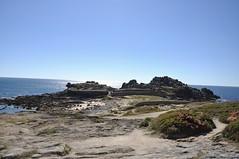 Castro de Baroña. Galicia. Playa (adribouzada) Tags: naturaleza celtas galicia paisaje baroña agua mar playa
