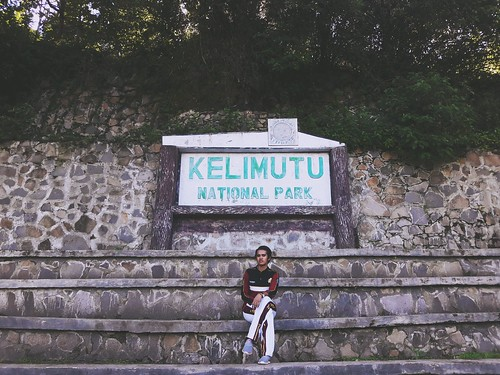Kelimutu national park, Ende, East Nusa Tenggara. Indonesia