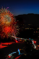 18 (morgan@morgangenser.com) Tags: pacificpalisaddes beach belairbayclub blue celebrate fireworks color iso100 july3rd loud nikon night ocean orange pch people red reflection special spectacular streaks timeexposire tripod yellow amazing
